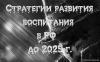 «Стратегии развития воспитания в РФ до 2025 г.» или «Пятна Роршаха»? Обсуждение в РИСИ