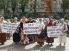 За право получать свои законные социальные льготы без электронной карточки киевлянина